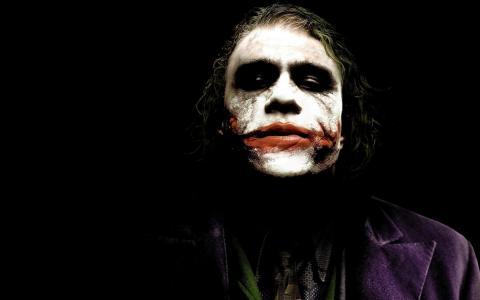 小丑,小丑,黑暗骑士,击中总帐