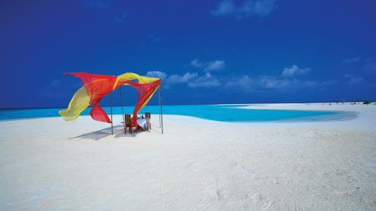 岛,马尔代夫,壁纸