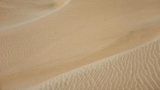 寂静优美的沙漠风光