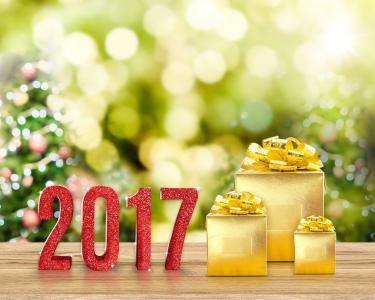 2017,礼物,假期,除夕