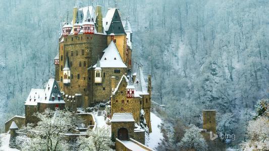Eltz,城堡,德国,壁纸