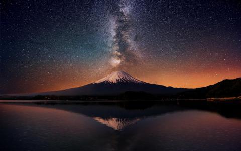 山,塔拉纳基,火山,新西兰