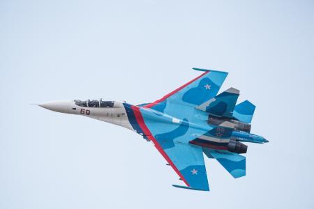战斗机,苏-27,侧卫,飞行