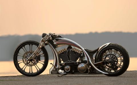 мотоцикл,牢不可破,自定义,自行车