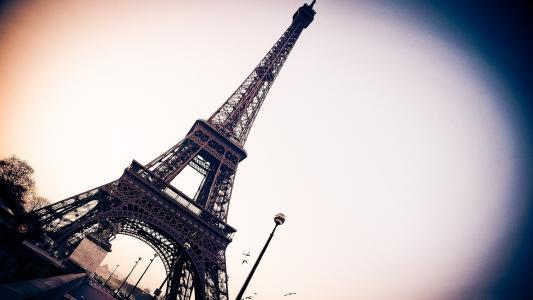 巴黎,艾菲尔铁塔,法国,城市