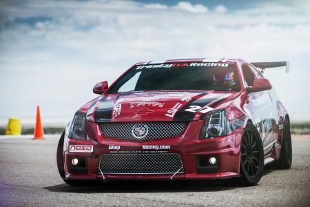 红色,cts-v,凯迪拉克,赛车