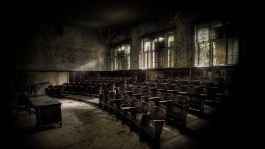 教室,壁纸