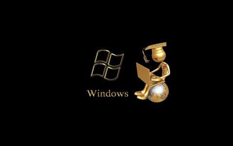 Windows,复古,背景,主题