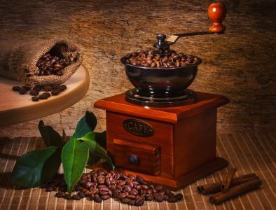 咖啡研磨机,咖啡豆