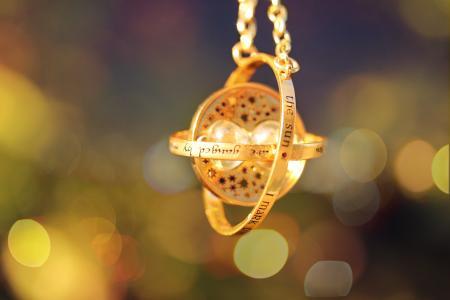 颜色,飞轮的时间,黄金,装饰,魔术