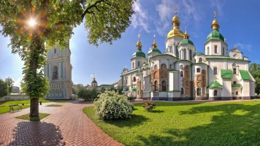索菲亚大教堂,基辅,壁纸