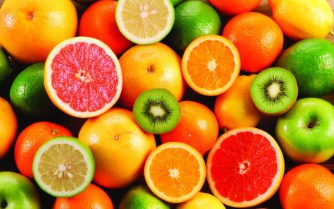 柑橘,壁纸