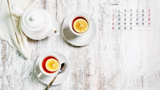 2021年3月美味下午茶日历