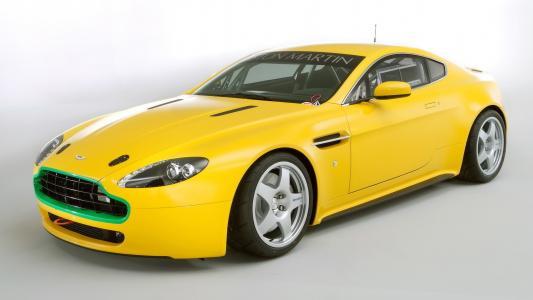 阿斯顿马丁,黄色,Sportcar,阿斯顿马丁
