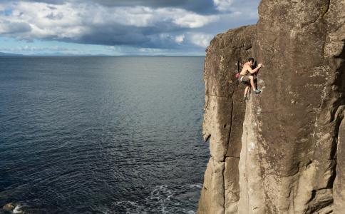 James Field-Mitchell,北岛,新西兰,北岛,新西兰,登山者,极端,摇滚,海洋