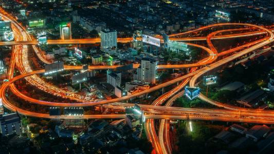 高速摄影下的曼谷
