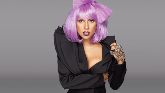 加加,紫,头发,壁纸