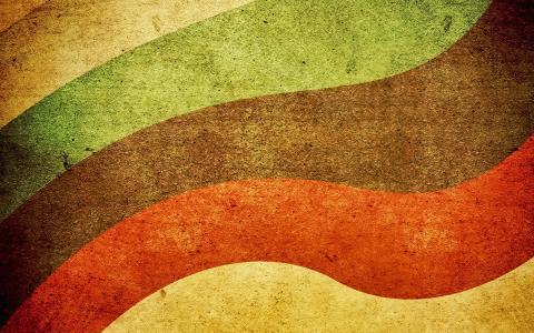 多彩多姿的线条,弯曲