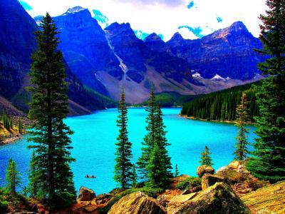 路易斯湖,加拿大艾伯塔省