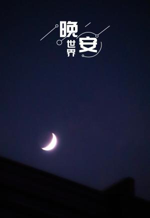 月儿高高挂,晚安
