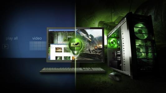 系统单元,显示器,键盘,个人电脑